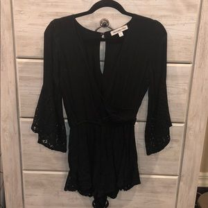 Black Abercrombie & Fitch romper. Size small.